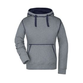 grey-melange/navy